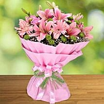 Pink Beauty: Anniversary Bouquet to UAE