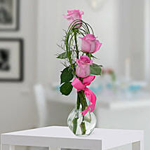 Pleasant Rose Arrangement: Send Miss You Flowers to UAE
