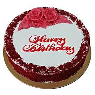 Red Velvet Birthday Cake: Send Birthday Cakes to UAE