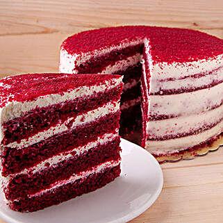 Red Velvet Magnum Cake: Send Cakes to UAE