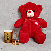 Special Teddy Bear Mug and Chocolates Combo for Anniversary: Personalized Gifts Dubai UAE