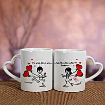 White Love Mugs: Valentine's Day Gifts to UAE