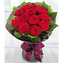 A Dozen Red Roses: Valentine's Day Flowers to UK