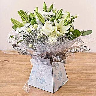 Ava Arrangement: Sympathy N Funeral Flowers UK