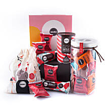 Baru Colorful Gift Box With Marshmallow Jar: Gift Hampers UK