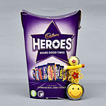 Cadbury Heroes Chocolates With Tikka: Bhai Dooj Gift Delivery in UK