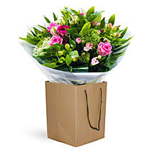 Emerald Kiss: Mother's Day Flower Delivery in UK