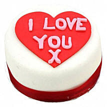I Love You Heart Cake: Order Cakes to UK