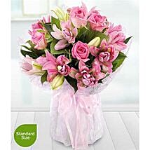 Lavish Rose and Lily: Flower Delivery UK