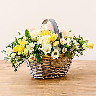 Luxurious Basket: Rakhi Gifts for Sister to UK