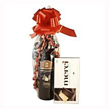 Red Wine and Chocolate: Christmas Gifts UK