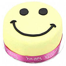 Smiley Celebration Cake For Girl: Birthday Gifts to UK