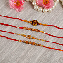 Traditional Rakhi Set: Send Rakhi for Brother in Uk