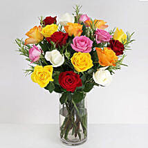 Vibrant Beauty Bouquet: Gifts for Anniversary in UK