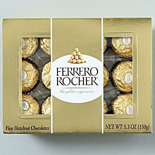 12 Rocher Delight: Anniversary Chocolates in USA