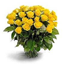 50 Long Stem Yellow Roses: Flowers to Ontario