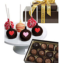 Chocolate Covered Cake Pops N Truffles: Chocolate Delivery in USA