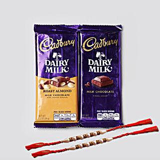 Designer Rakhis And Cadbury Combo: Kids Rakhi to USA