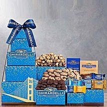 Ghirardelli Tower: Chocolate Delivery in USA