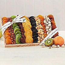 Gourmet Dried Fruit and Nut Collection: Send Bhai Dooj Gifts to USA