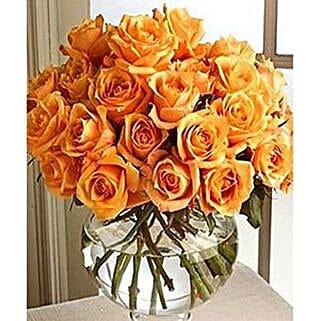 Long Stem Orange Roses: Women's Day Gifts to USA