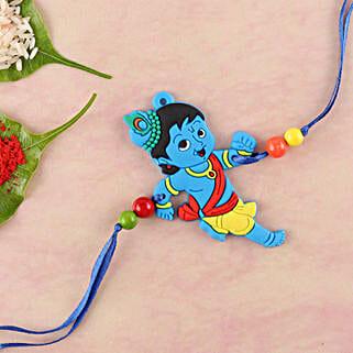 Naughty Little Krishna Kids Rakhi: Send Rakhi to Sunnyvale