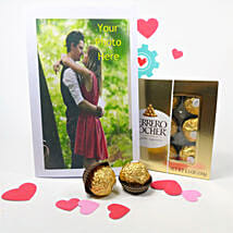 Personalized Greeting Card And Chocolates: Gifts for Anniversary in USA