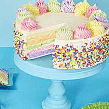 Rainbow Cake: Cake Delivery in Miami