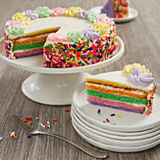 Rainbow Cake: Send Cakes to New Jersey