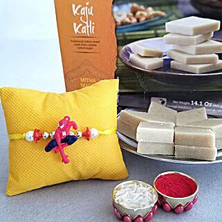 Spiderman Rakhi And Kaju Katli: Rakhi With Sweets to USA