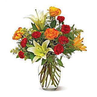 Sunset Sky: Send Birthday Flowers to USA