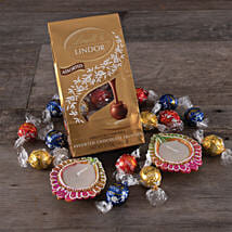 Sweet Diwali Lindor Chocolates: Gift Basket Delivery in USA