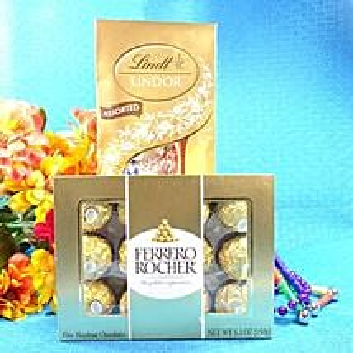 Sweet Golden Surprise: Valentine Chocolates to USA
