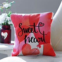 Sweet Heart Cushion: Personalised Gifts USA