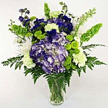 Timeless Treasurer: New Year Flowers to USA
