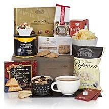 Gourmet Delights Hamper: Send Rakhi to Zambia